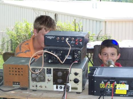 Ham Radio Field Day Fun