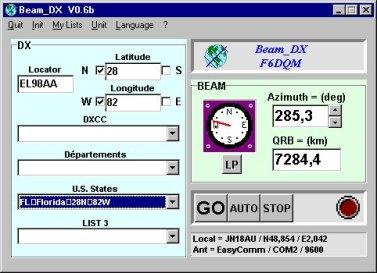 Dx Beam Heading Analyzer