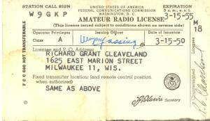 Amateur Radio License