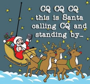 Santa on Ham Radio