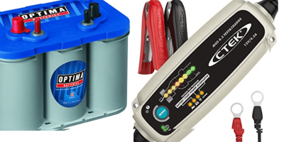 Ham Shack Battery Equipment
